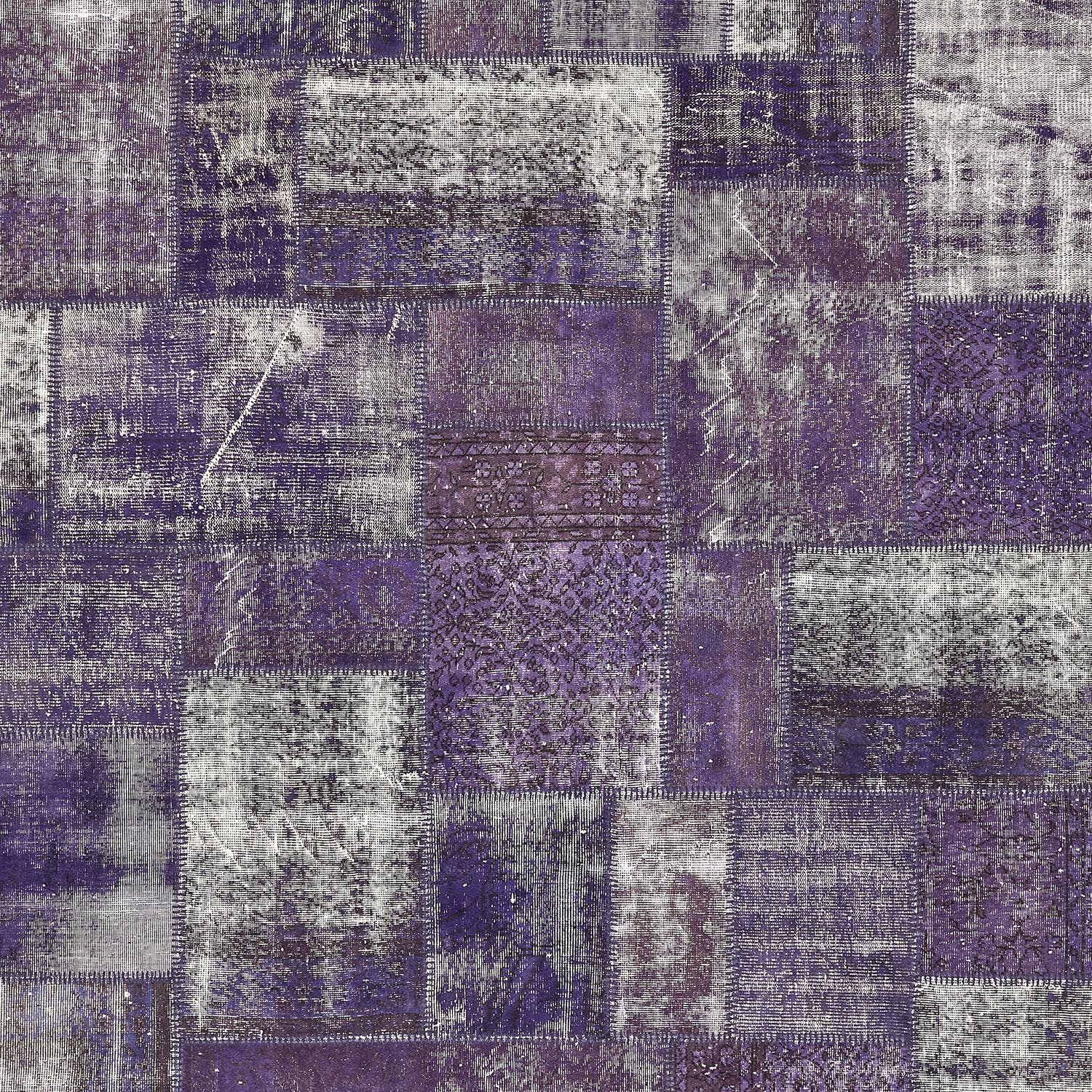"""Color Reform Patchwork Overdyed Rug - 8'2""""x9'10"""""""