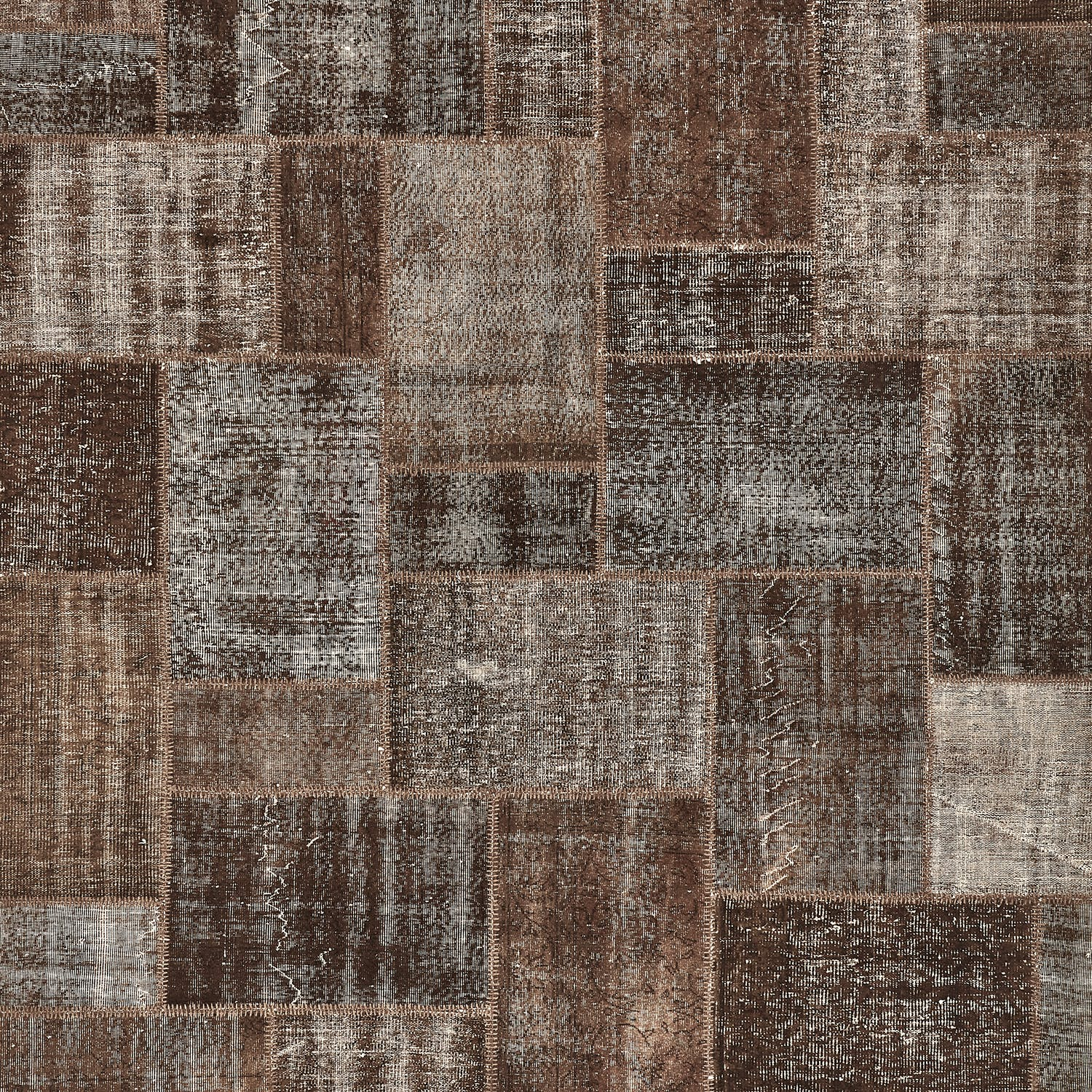 """Color Reform Patchwork Overdyed Rug - 9'1""""x12'"""