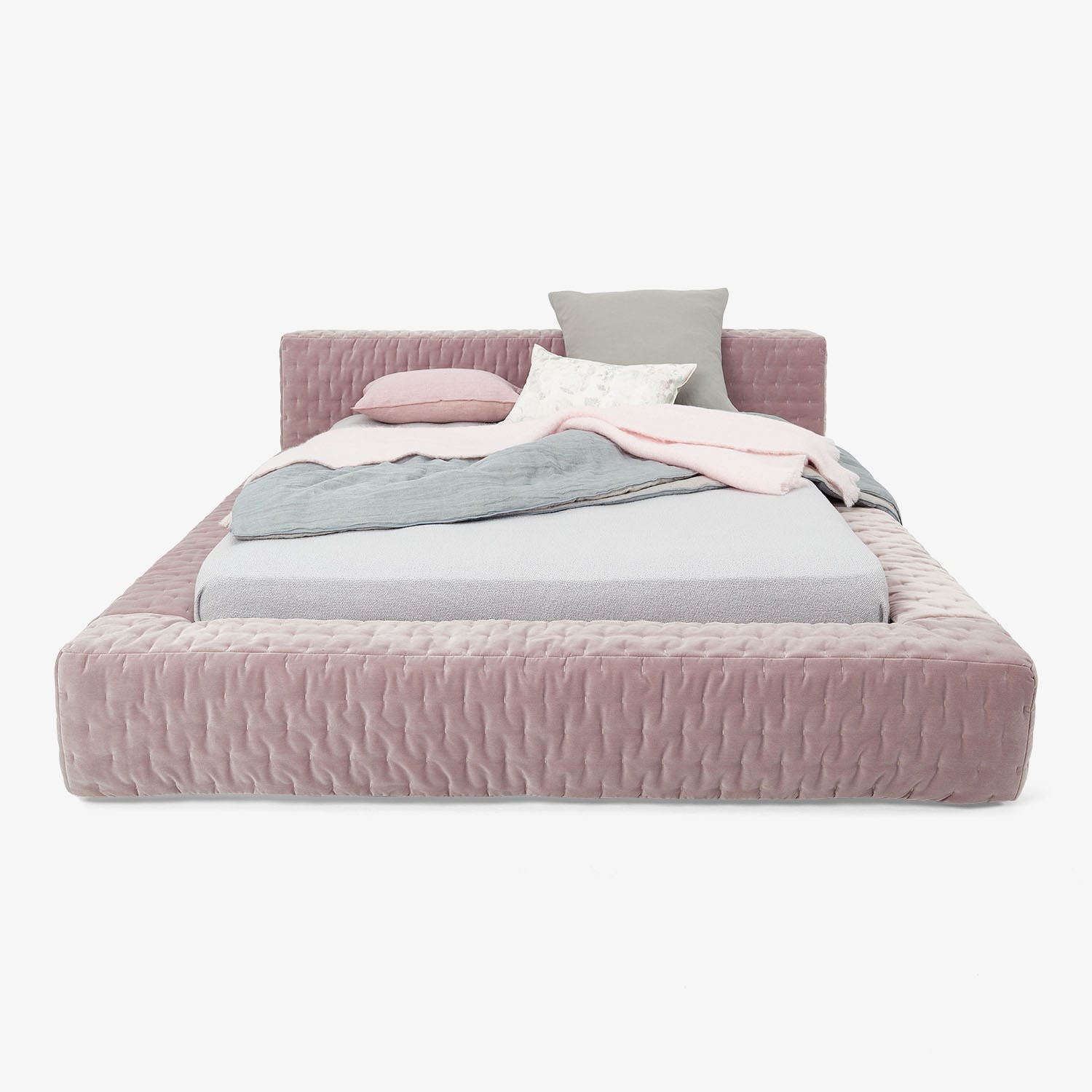 Saba Amelia Quilted King Bed