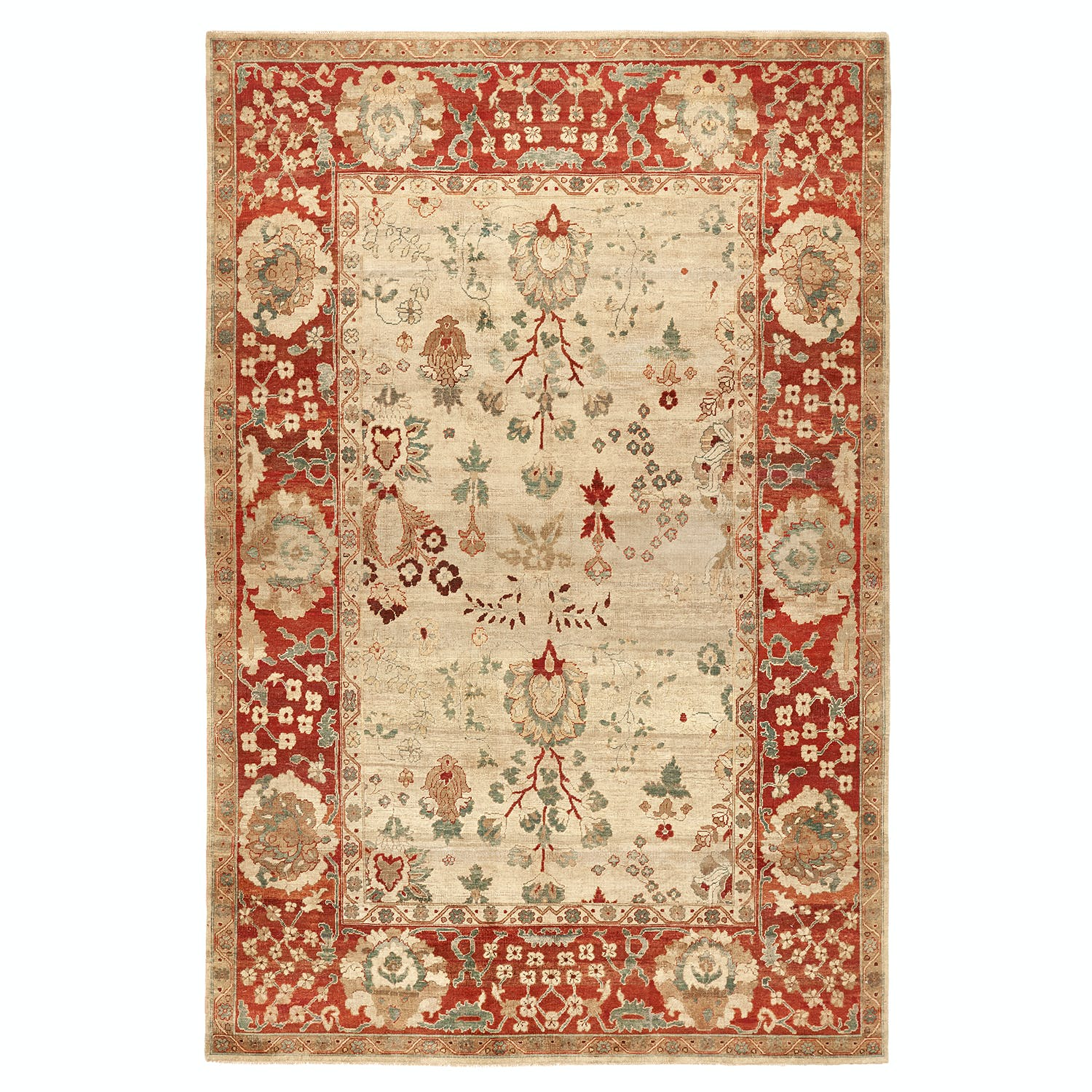 """Classic Floral Rug - 8'9""""x13'2"""""""