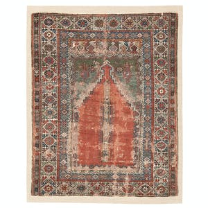 Product Image - Antique Prayer Rug - 4'x6'