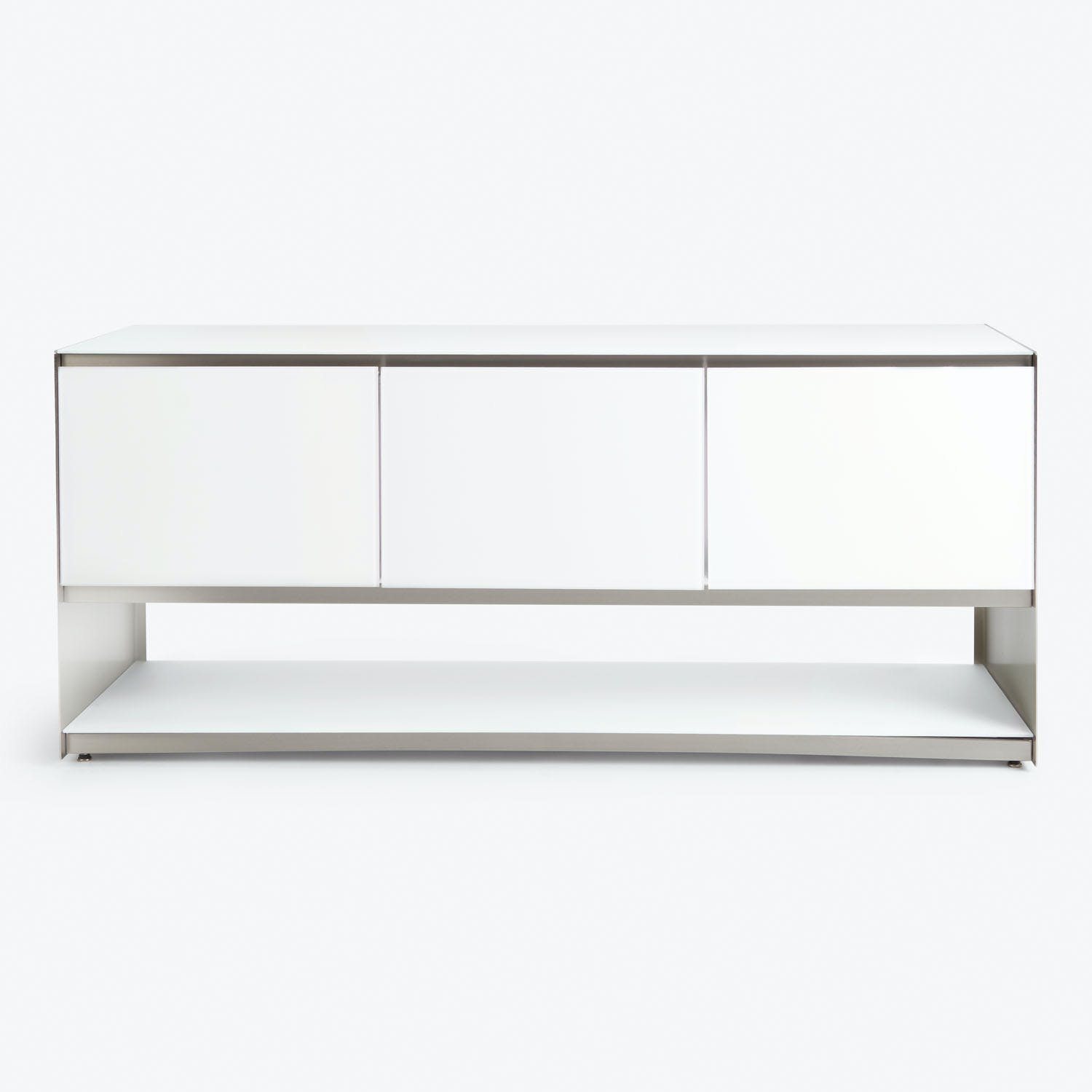 Product Image - Gallerist Royale Sideboard White Steel