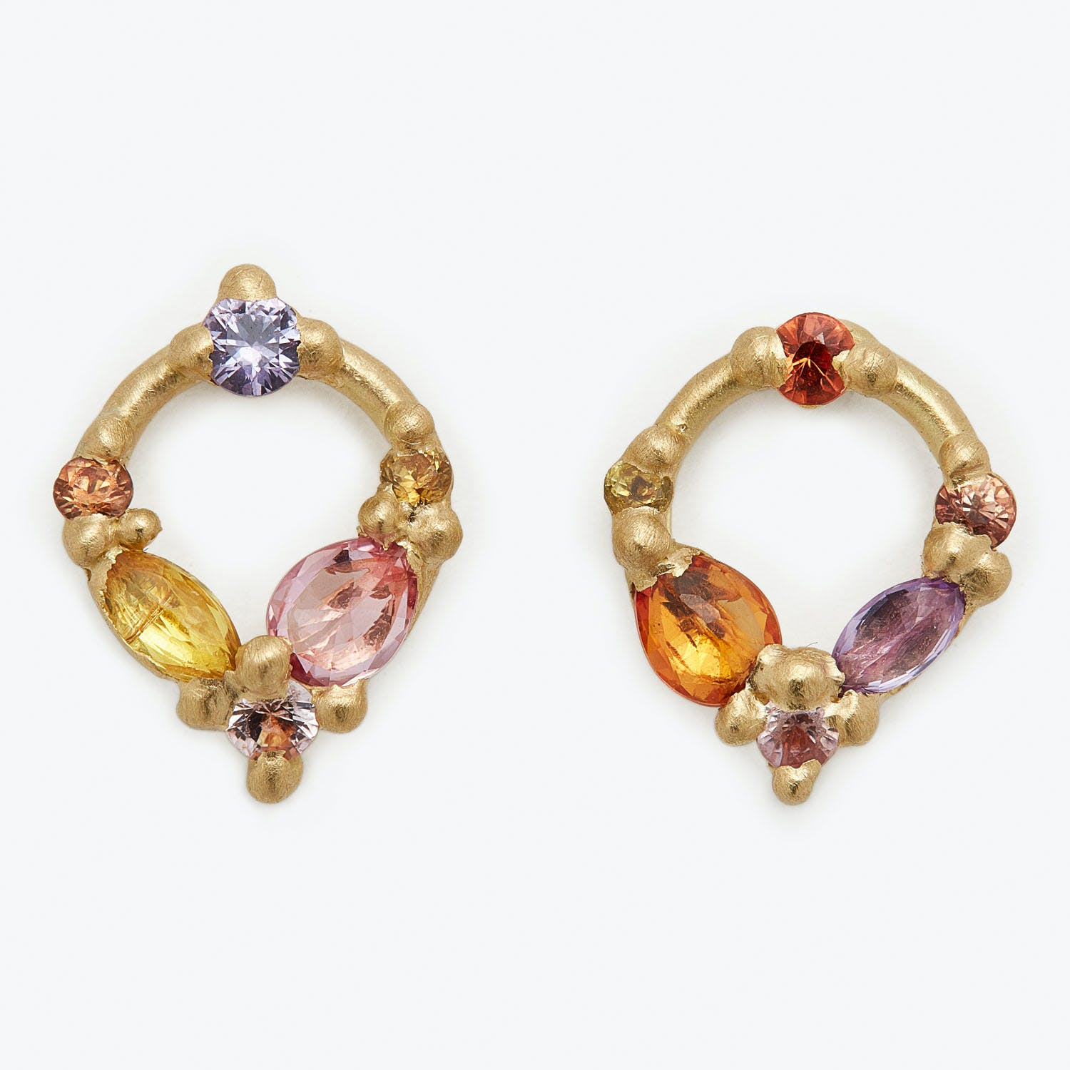 Polly Wales Dew Drop Studs