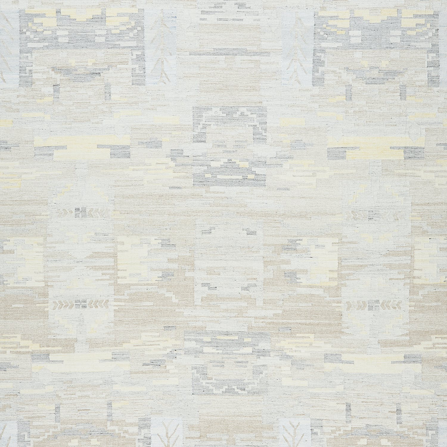 Contemporary Flat Weave Rug - 12' x 18'