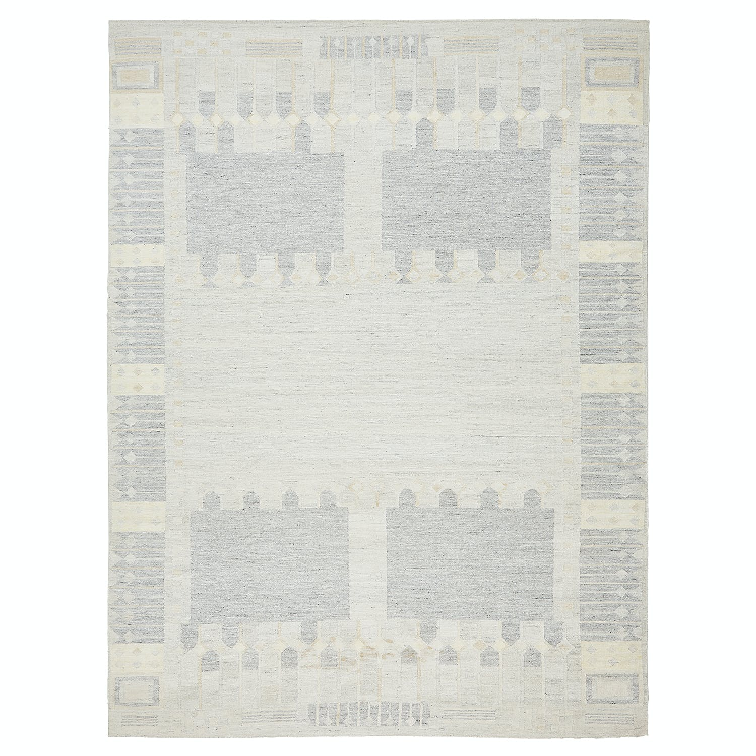 Product Image - Swedish Flat Weave Rug - 10'x14'