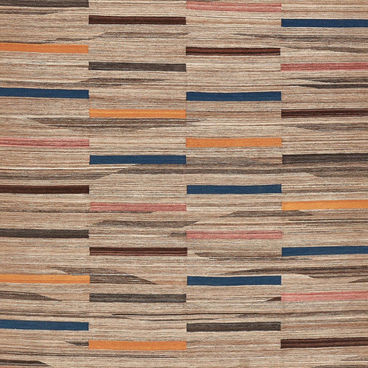 Contemporary Flat Weave Rug - 9'x12'