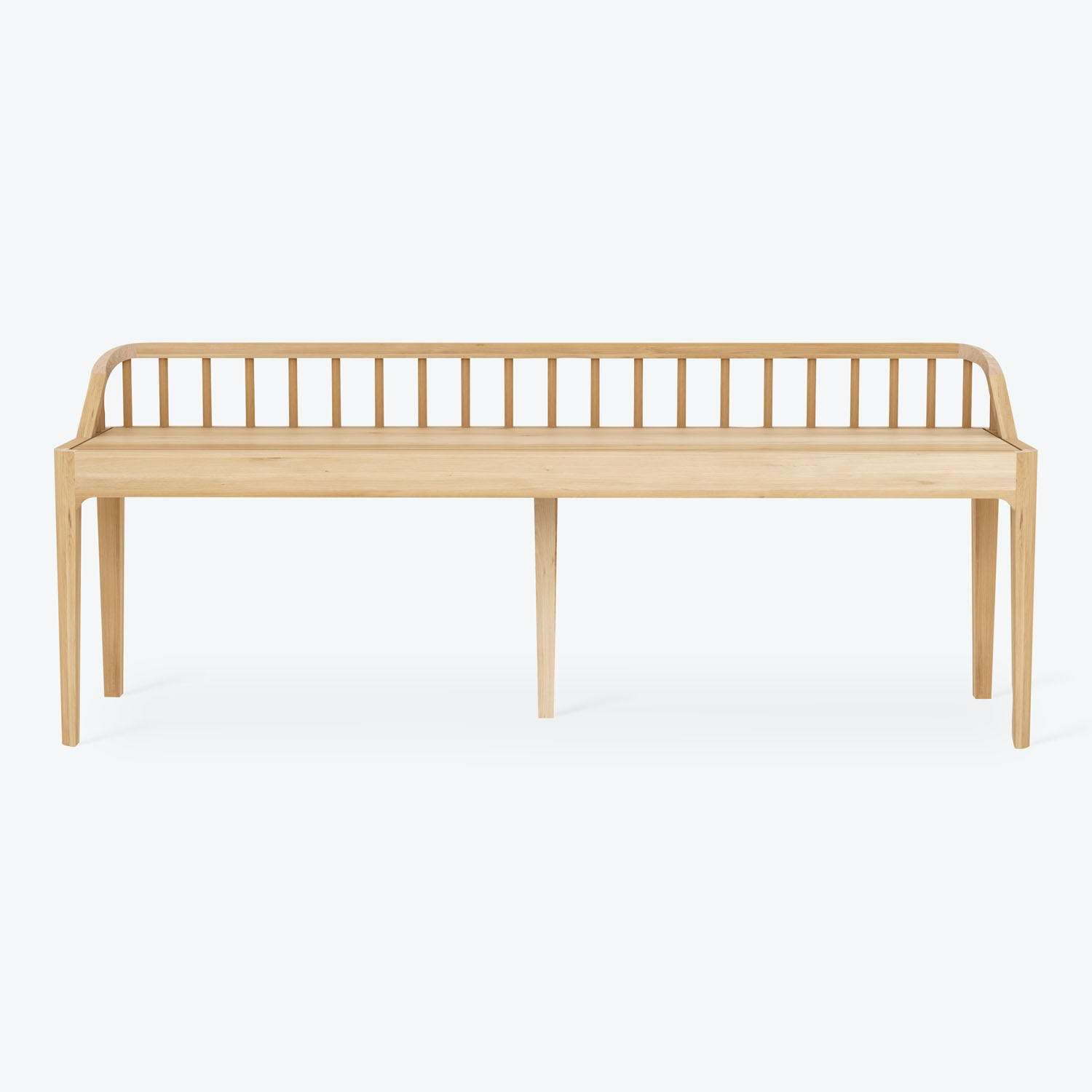 Product Image - Oak Spindle Bench