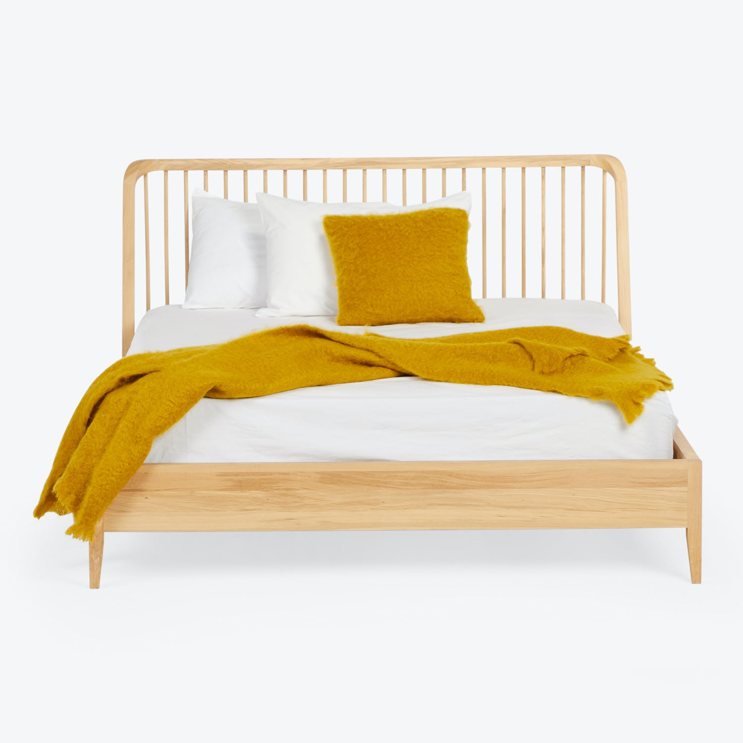 Product Image - Oak Spindle Bed