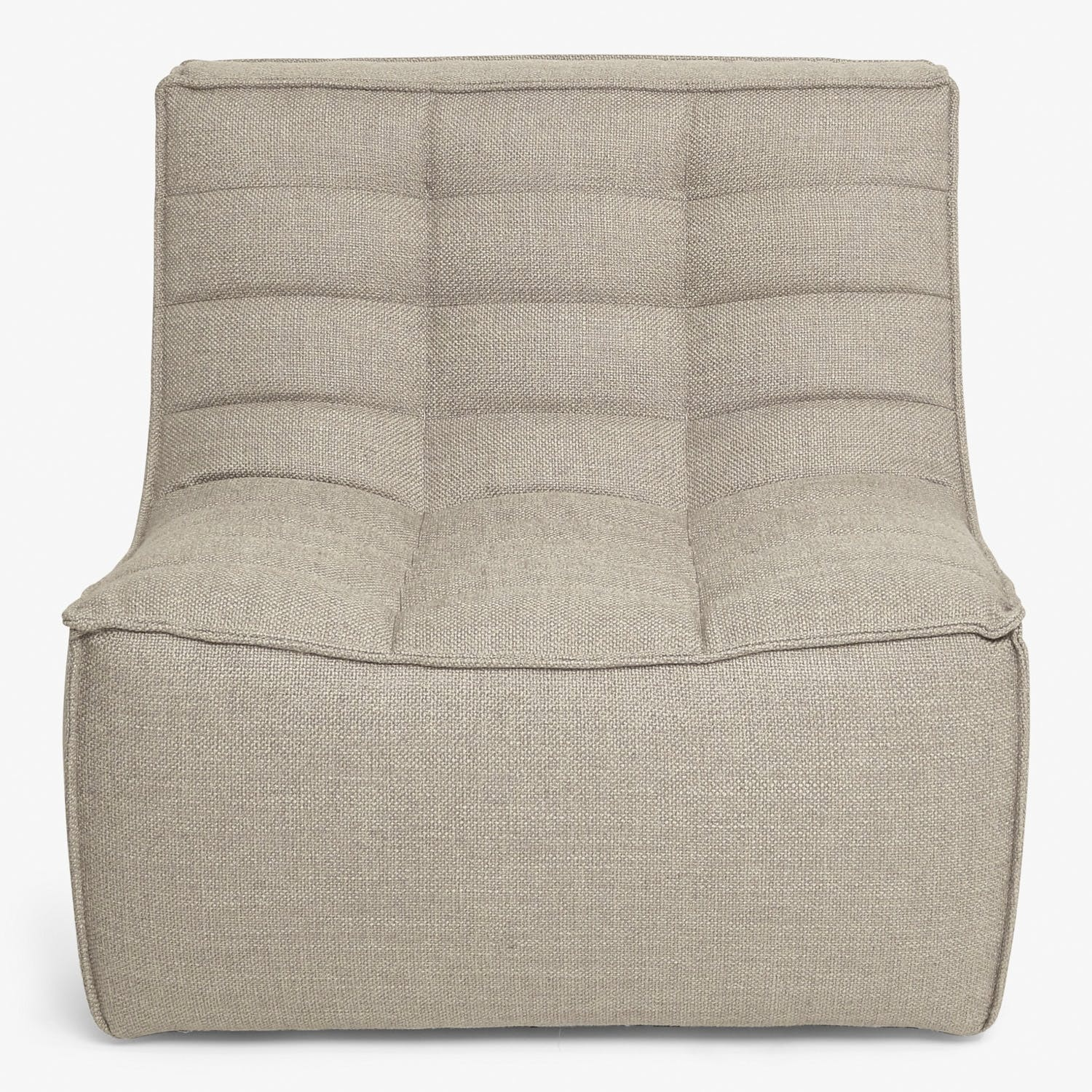 Ethnicraft Sectional Armless Chair