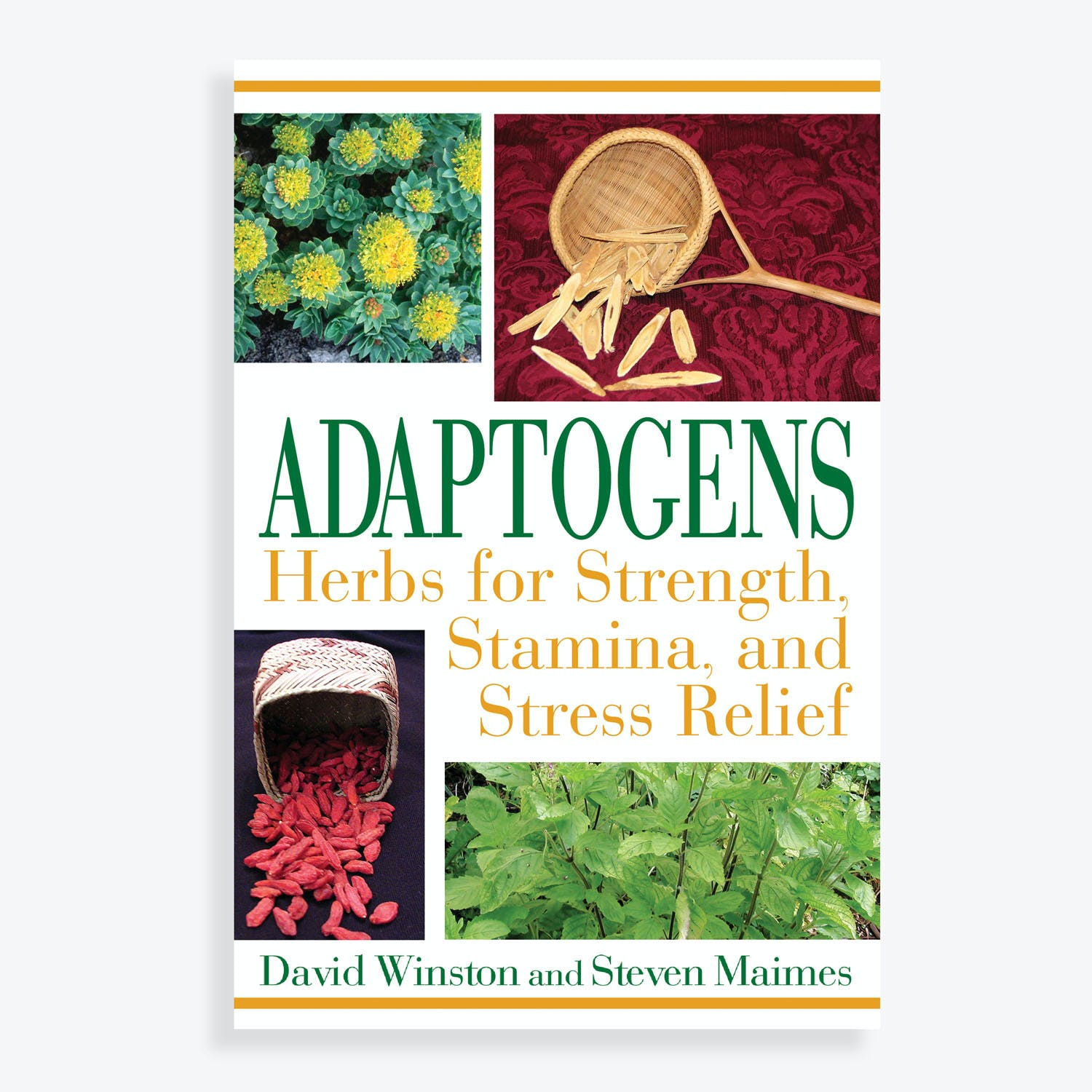 Adaptogens: Herbs for Strength, Stamina, and Stress Relief by David Winston & Steven Maimes