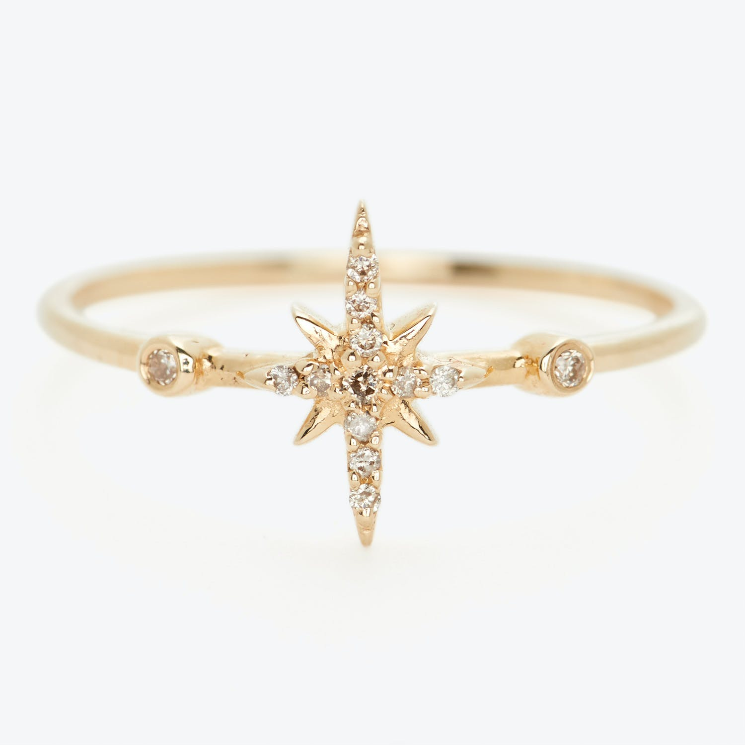 Celine D'Aoust Diamond North Star Ring