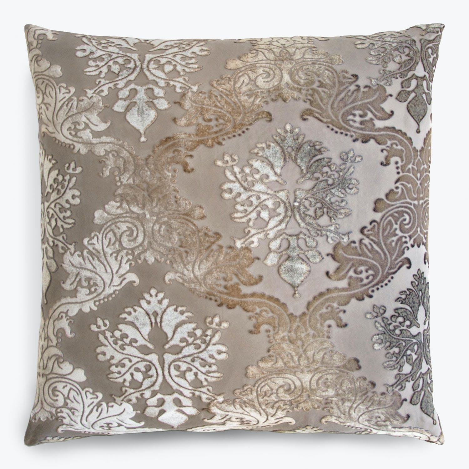 Brocade Velvet Pillow Coyote