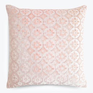 Product Image - Small Moroccan Velvet Pillow Blush