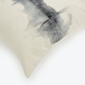 Product Image - Stains Canvas Pillow Logwood