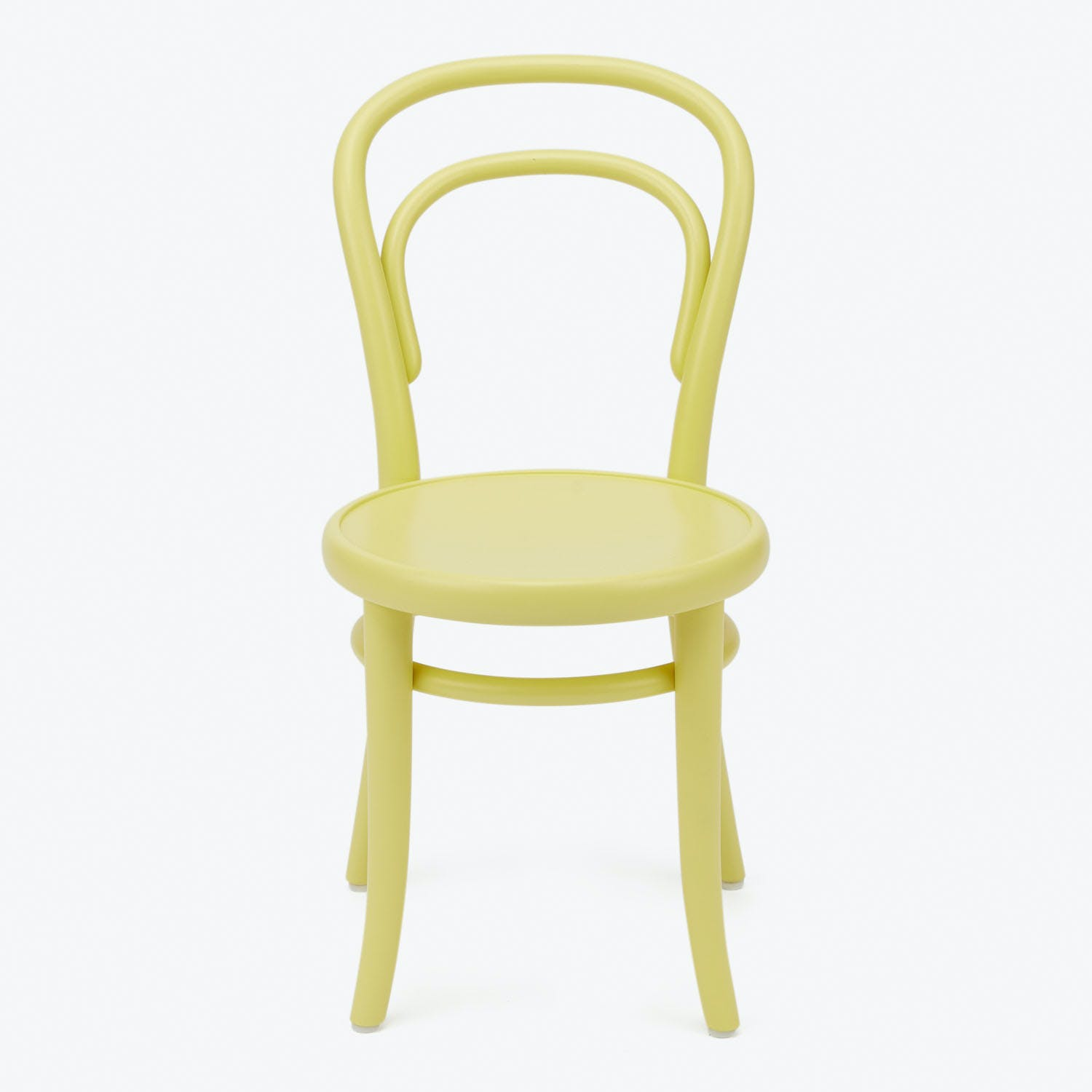 Product Image - Bent Petite Chair Creamy Yellow