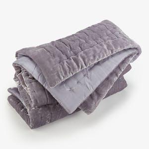 Product Image - Luminous Velvet Quilt Moonstone