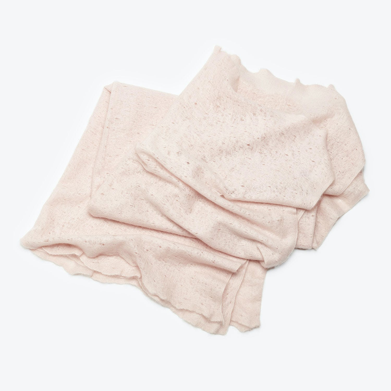 abcDNA Cashmere Micro Throw Lotus Pink