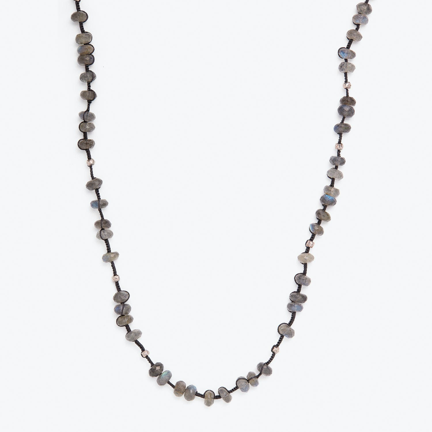 Product Image - Danielle Welmond Labradorite & Silver Necklace