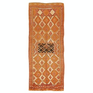"Product Image - Vintage Moroccan Runner - 4'10""x12'1"""