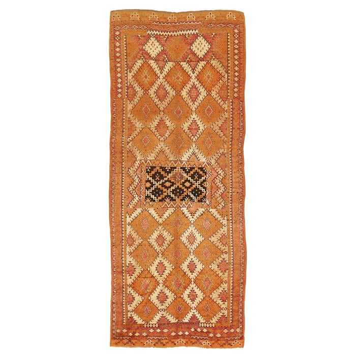 """Product Image - Vintage Moroccan Runner - 4'10""""x12'1"""""""
