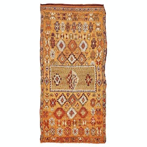 Product Image - Vintage Moroccan Rug - 5'x12'