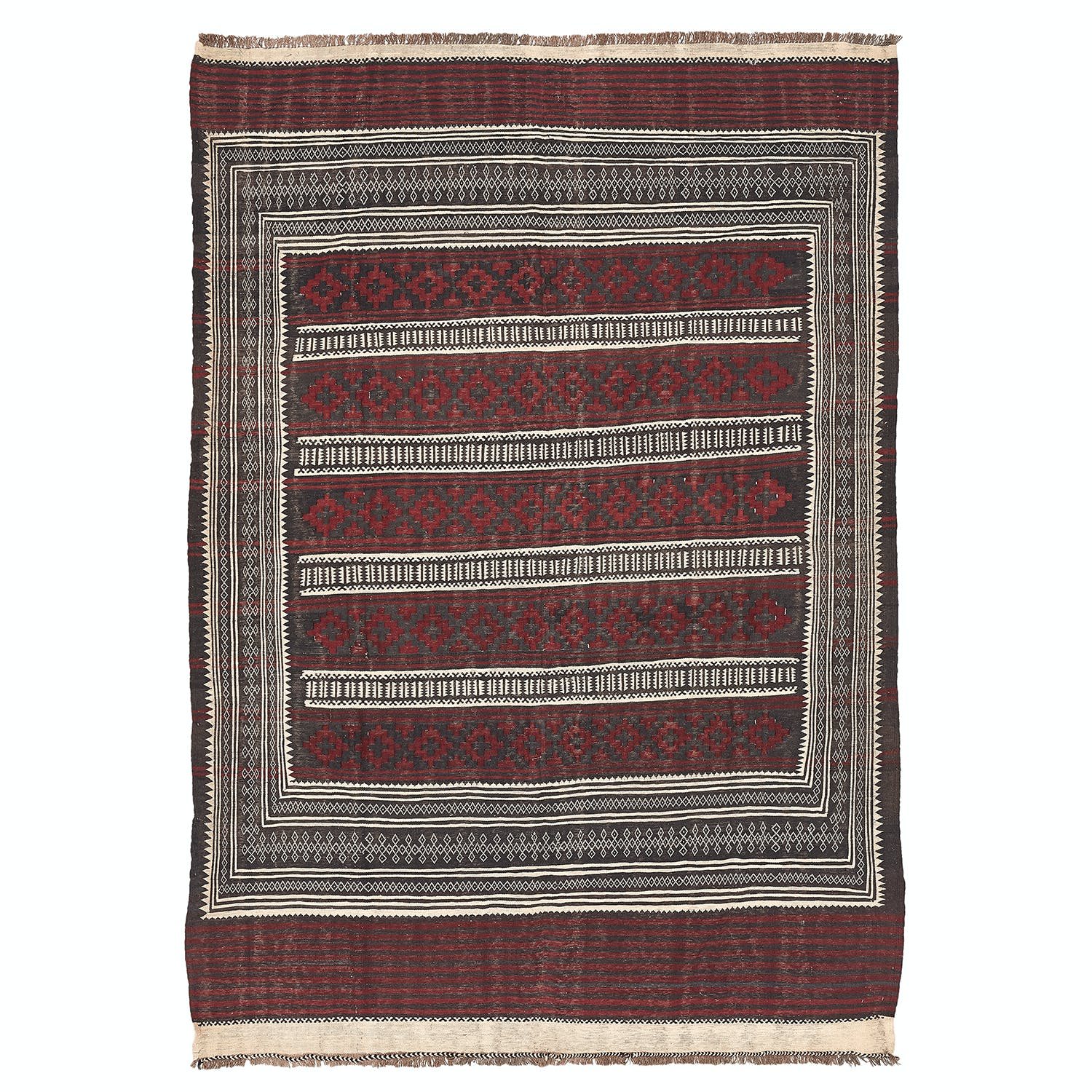 "Product Image - Flat Weave Rug - 6'7""x9'8"""