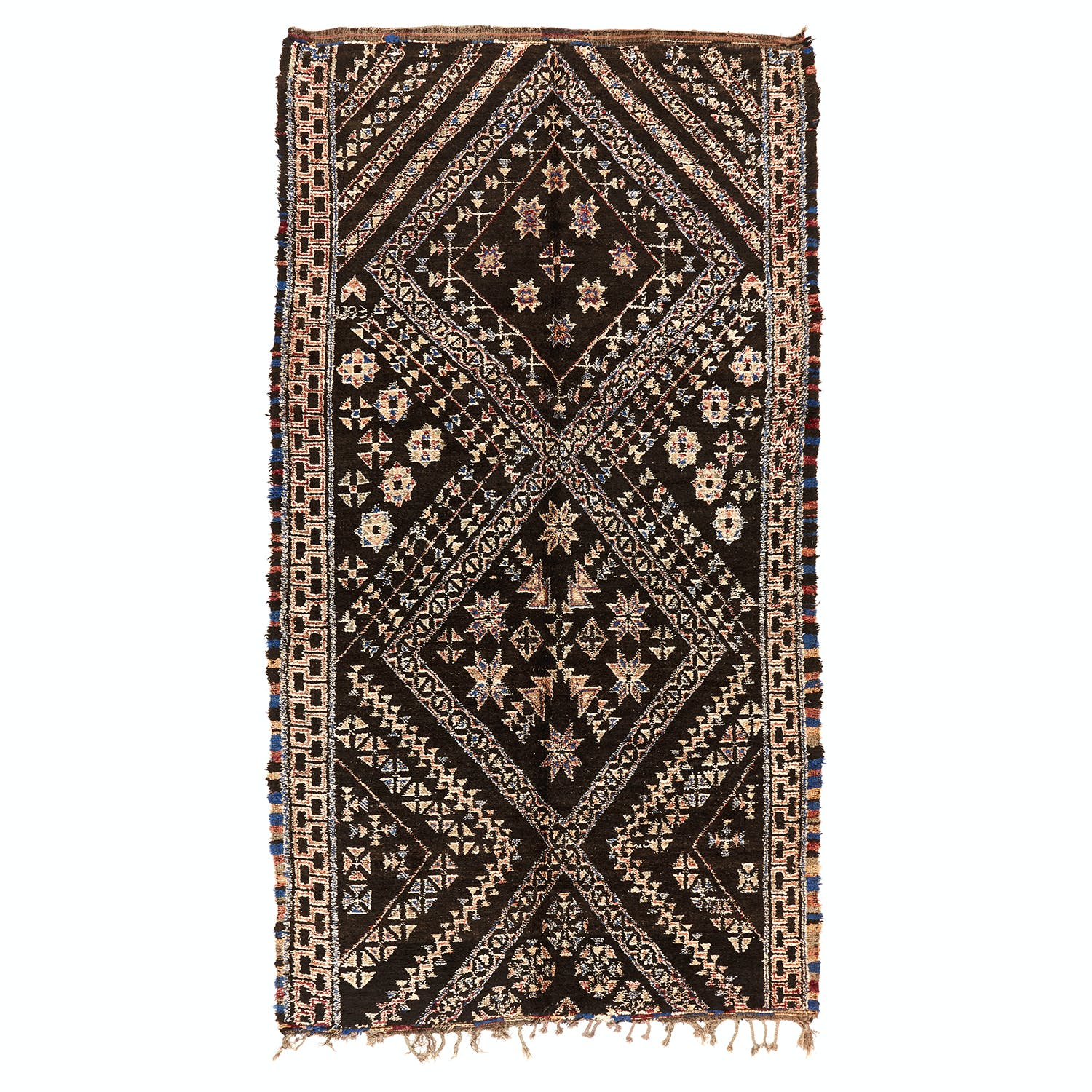Product Image - Vintage Moroccan Rug-7'x13'