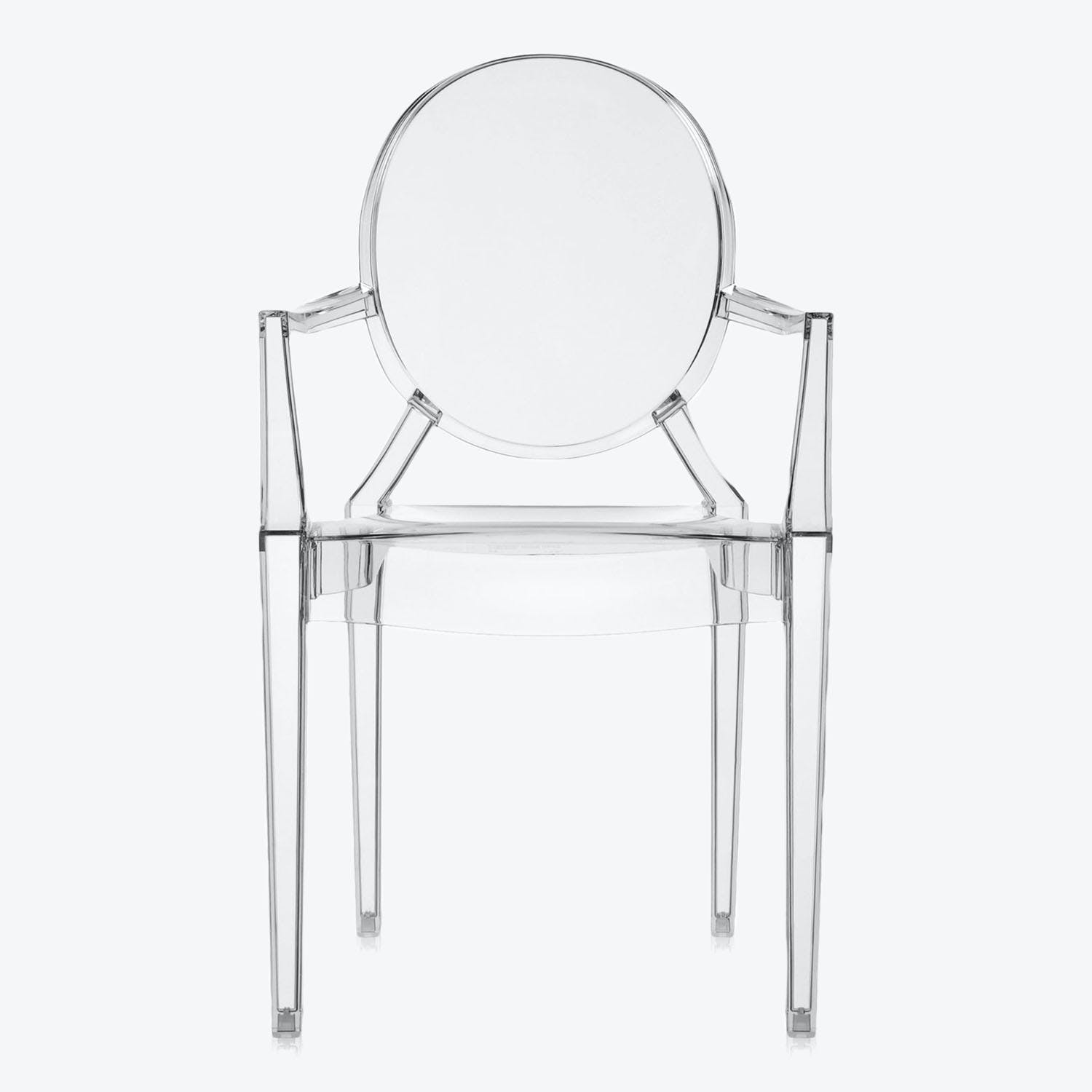 Kartell Louis Ghost Chair Smoke