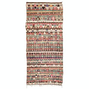 "Product Image - Vintage Moroccan Rug - 6'3""x14'4"""