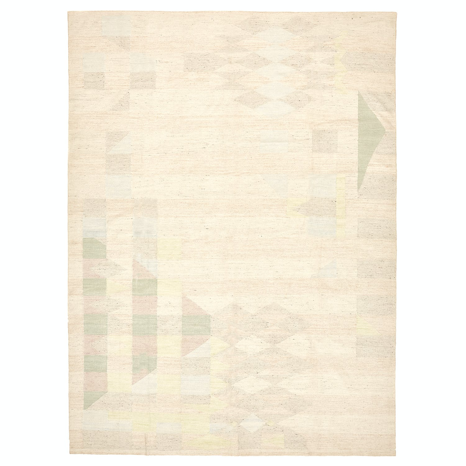 "Contemporary Abstract Rug - 8'11""x12'1"""