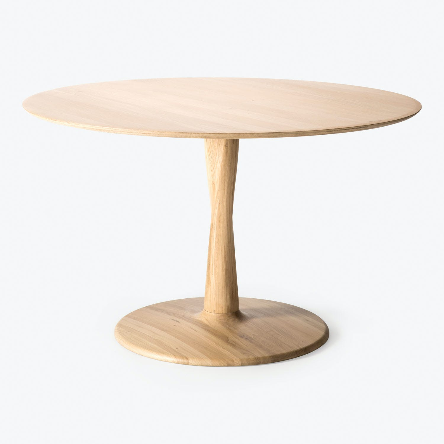 Product Image - Large Oak Torsion Round Dining Table