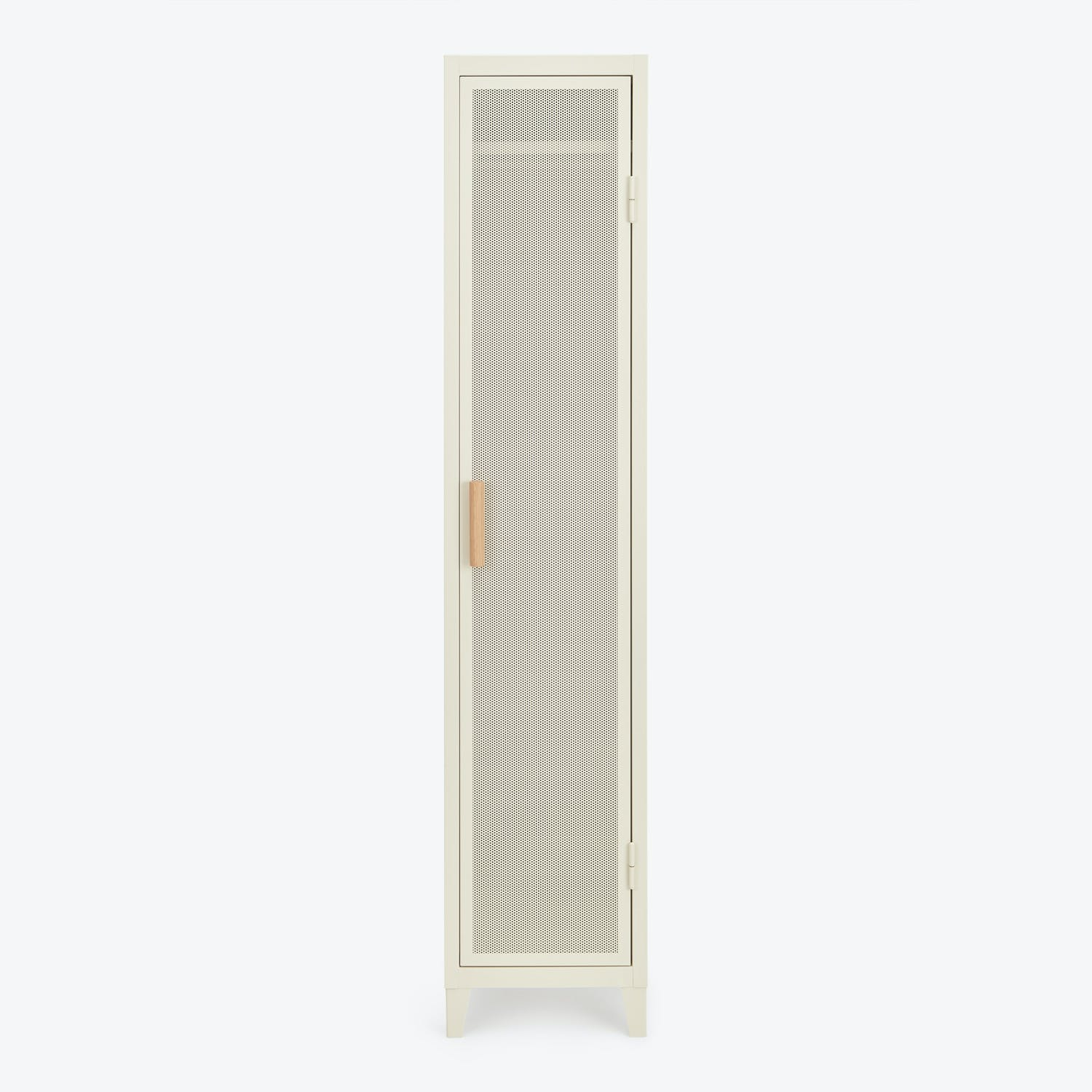 Product Image - Perforated 1-Door Locker Ivory