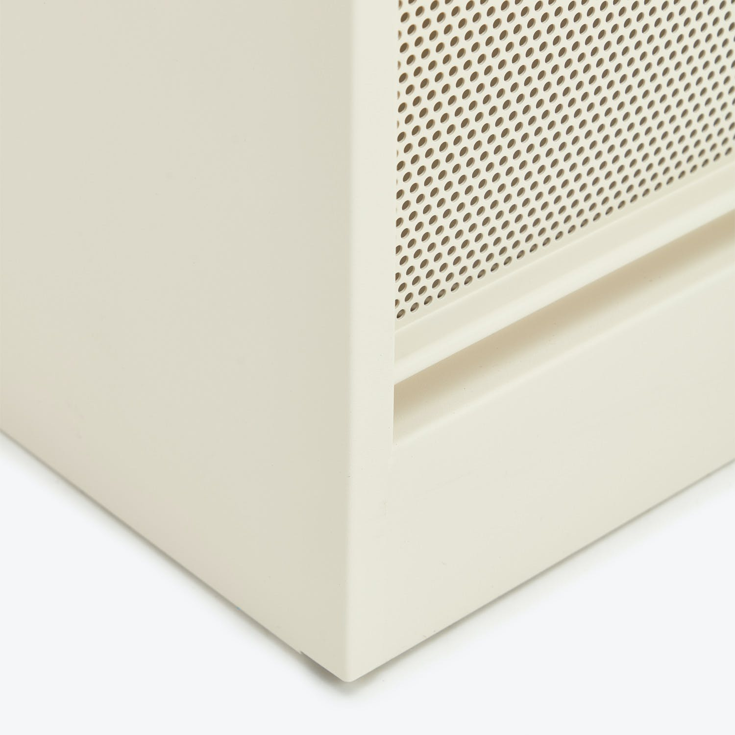 Perforated 5-Drawer Cabinet Ivory