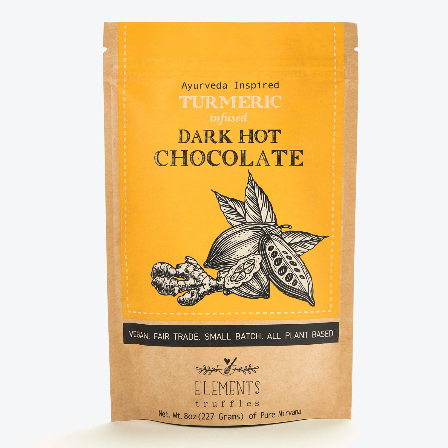 Product Image - Ashwagandha Infused Dark Hot Chocolate