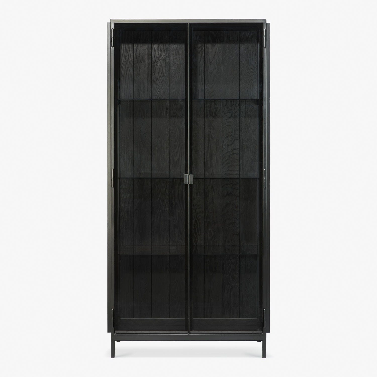 Ethnicraft Anders Tall Cabinet Black