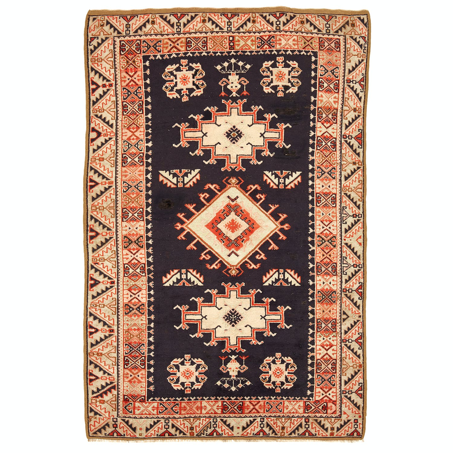 Product Image - Vintage Moroccan Rug -5'x8'