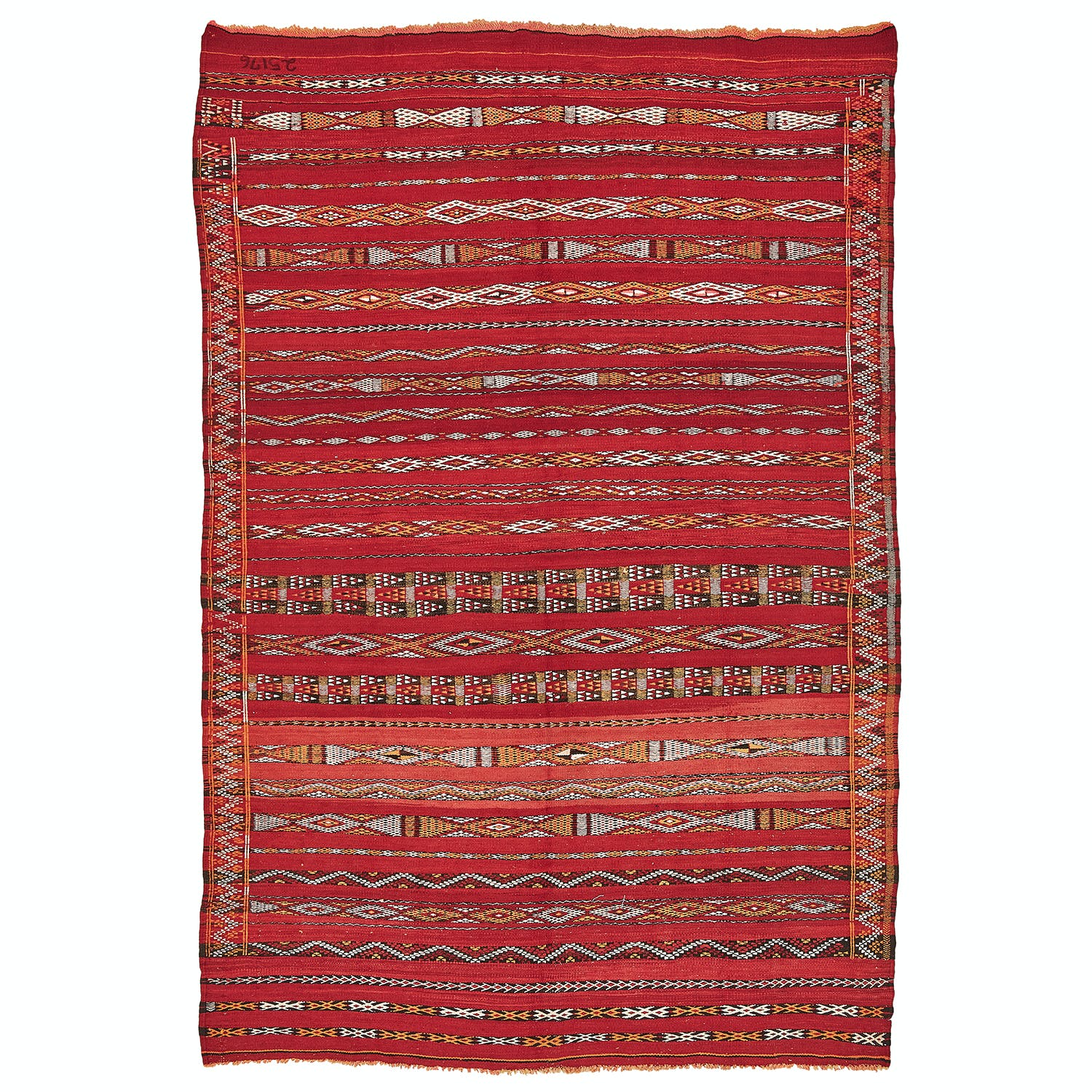 Product Image - Vintage Moroccan Rug-5'x'8'