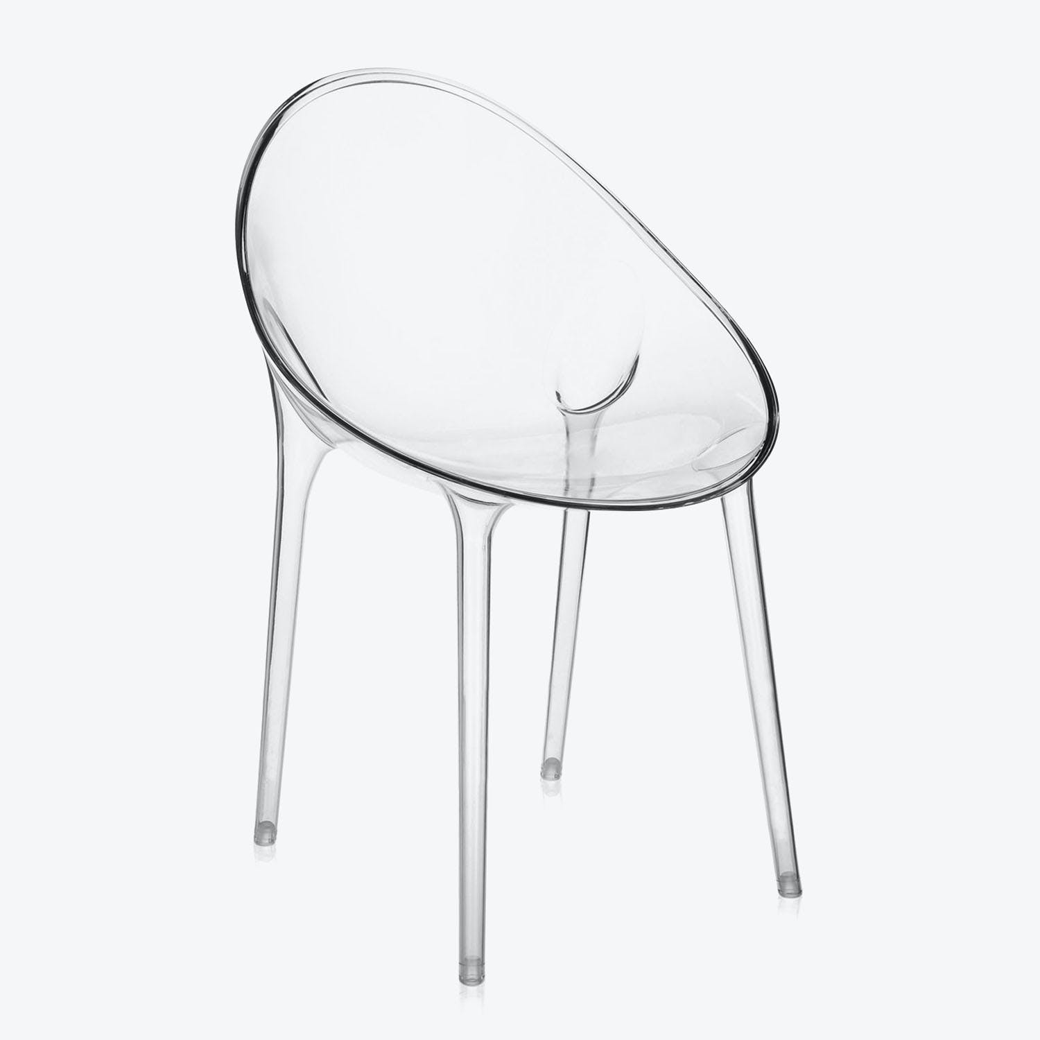 Kartell Mr. Impossible Chair Crystal
