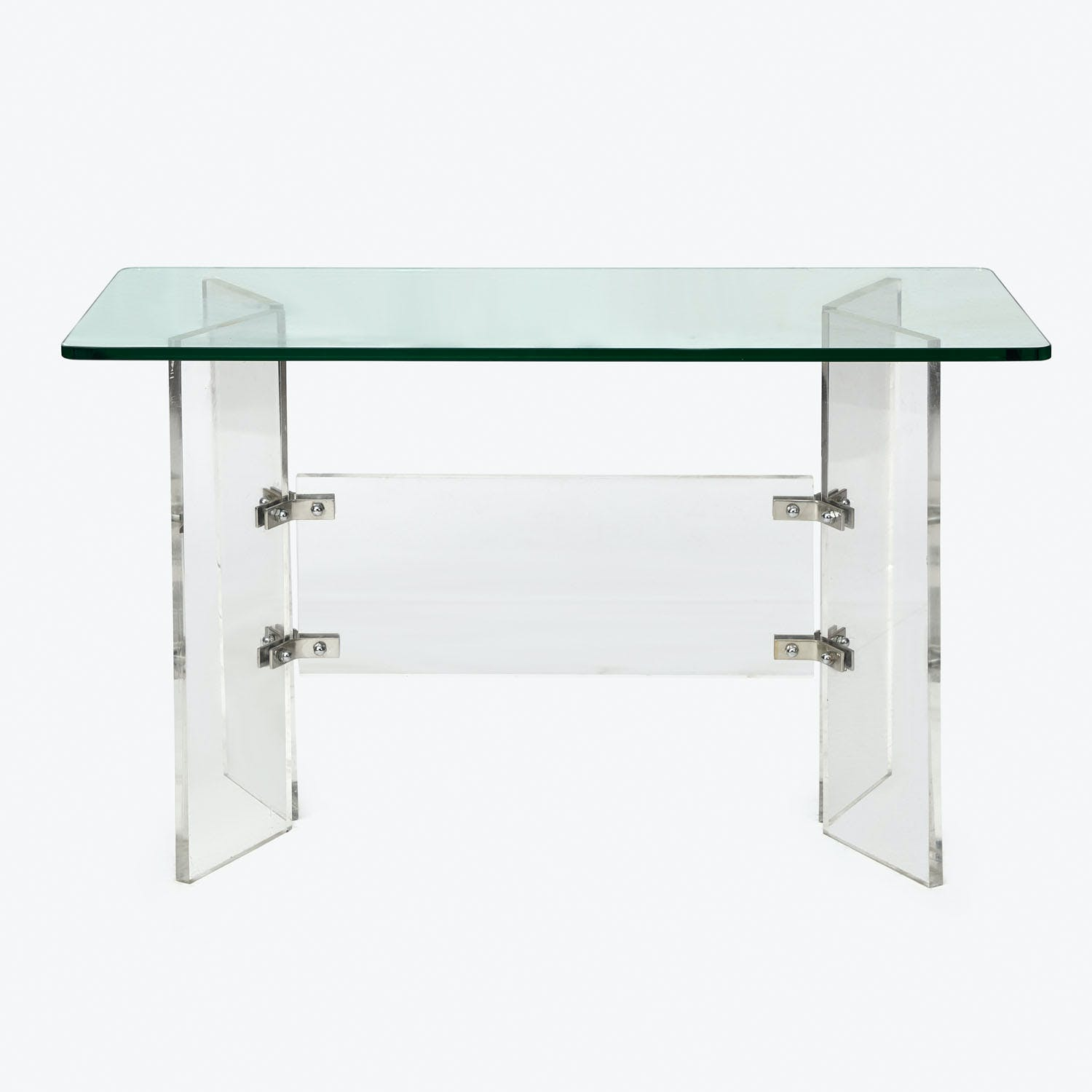 Product Image - Vintage Glass & Acrylic Console