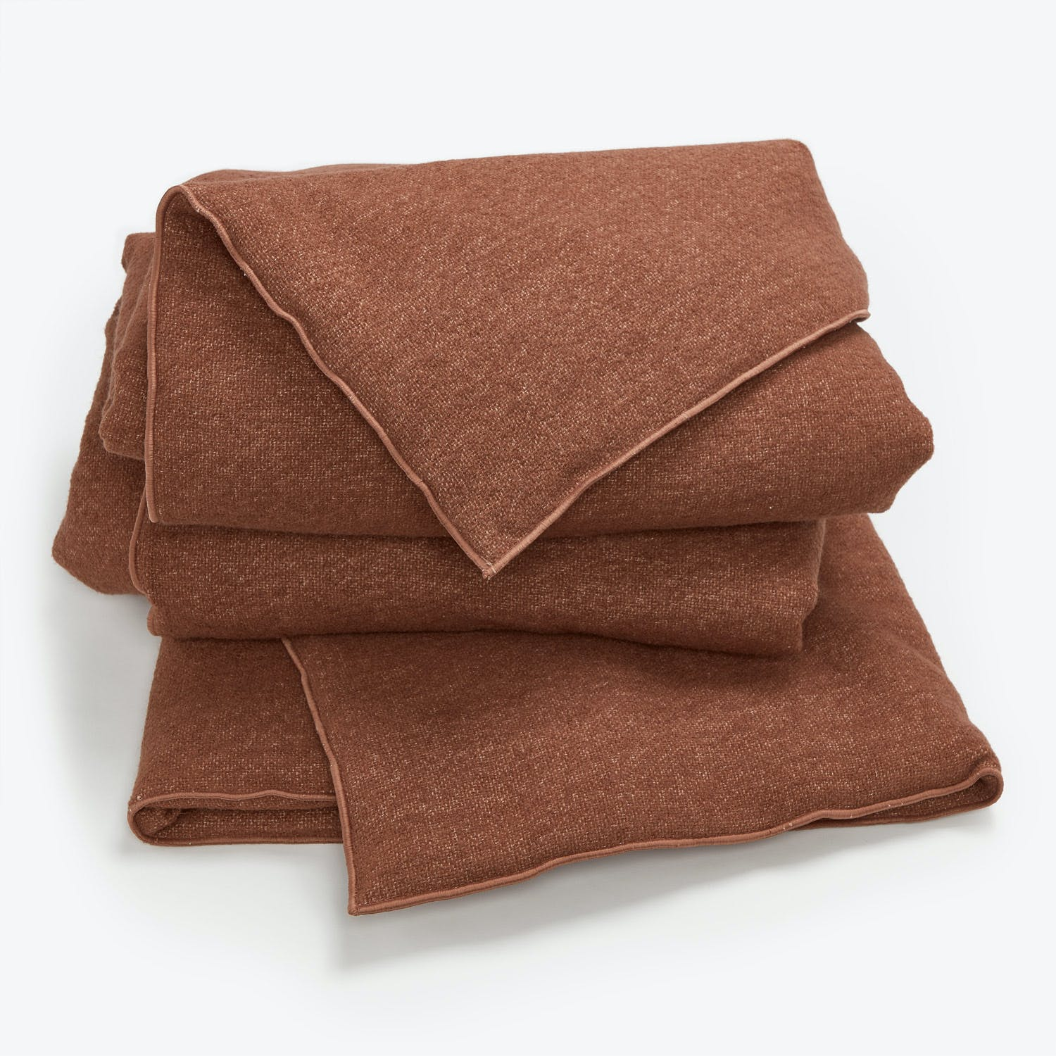 Maison De Vacances Canvas Bouclette Throw Blush