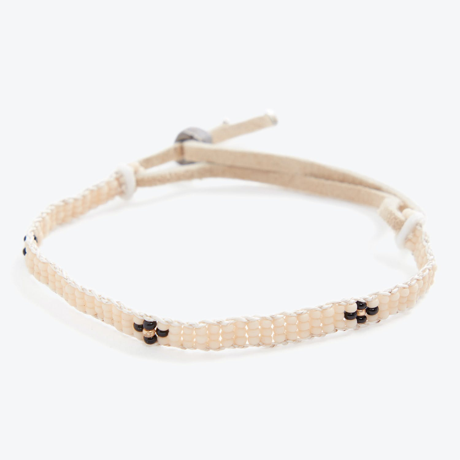 Product Image - Extra Small Cross Warrior Bracelet Pink/Black/Gold