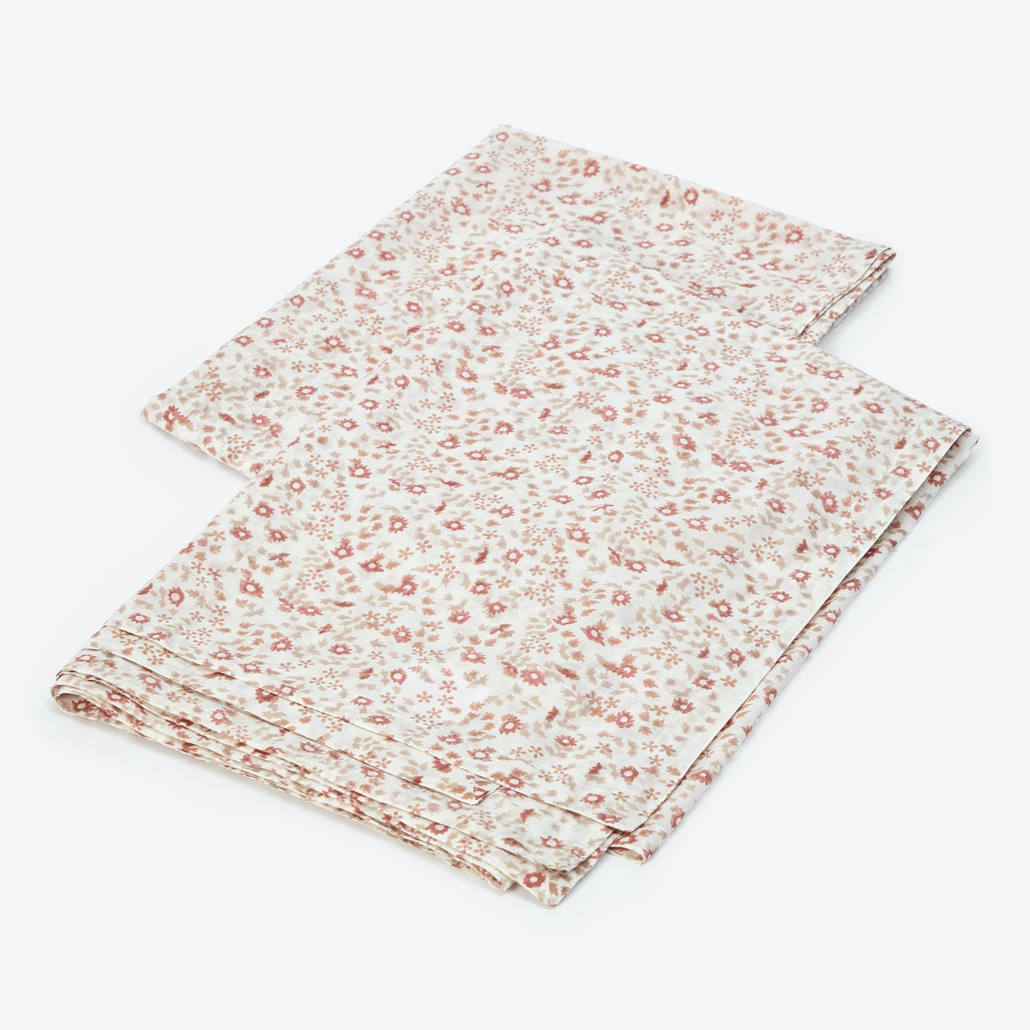 Product Image - Small Floral Cotton Voile Fitted Sheet Multi