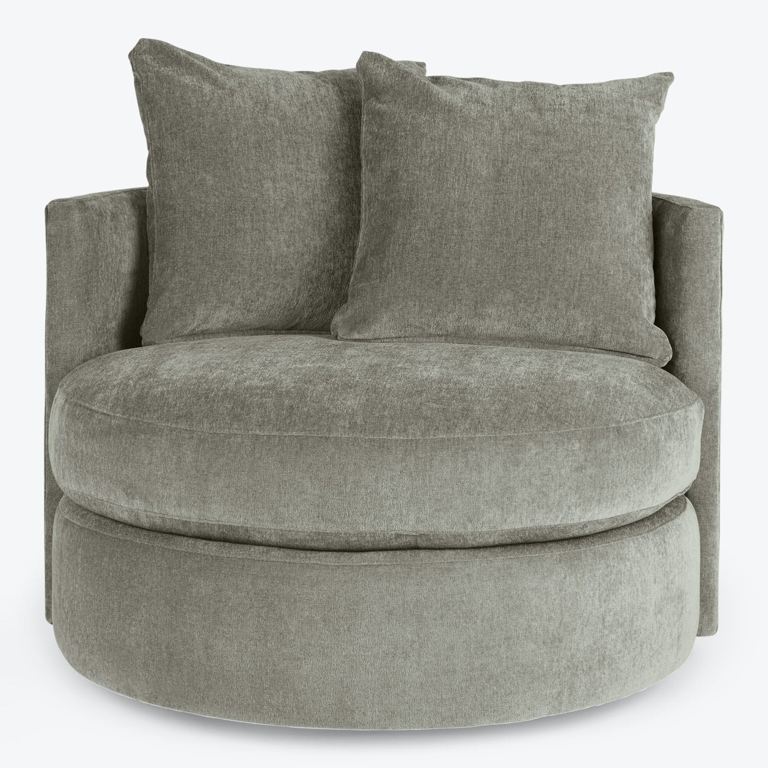 Product Image - Hollywood Mini Swivel Chair Cement