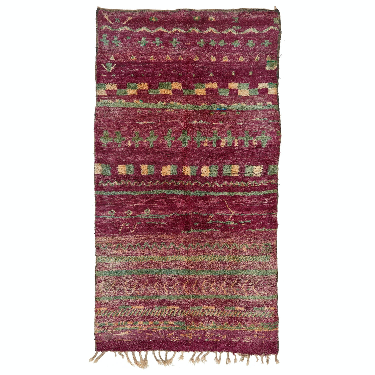 Product Image - Vintage Moroccan Rug -6'x11'