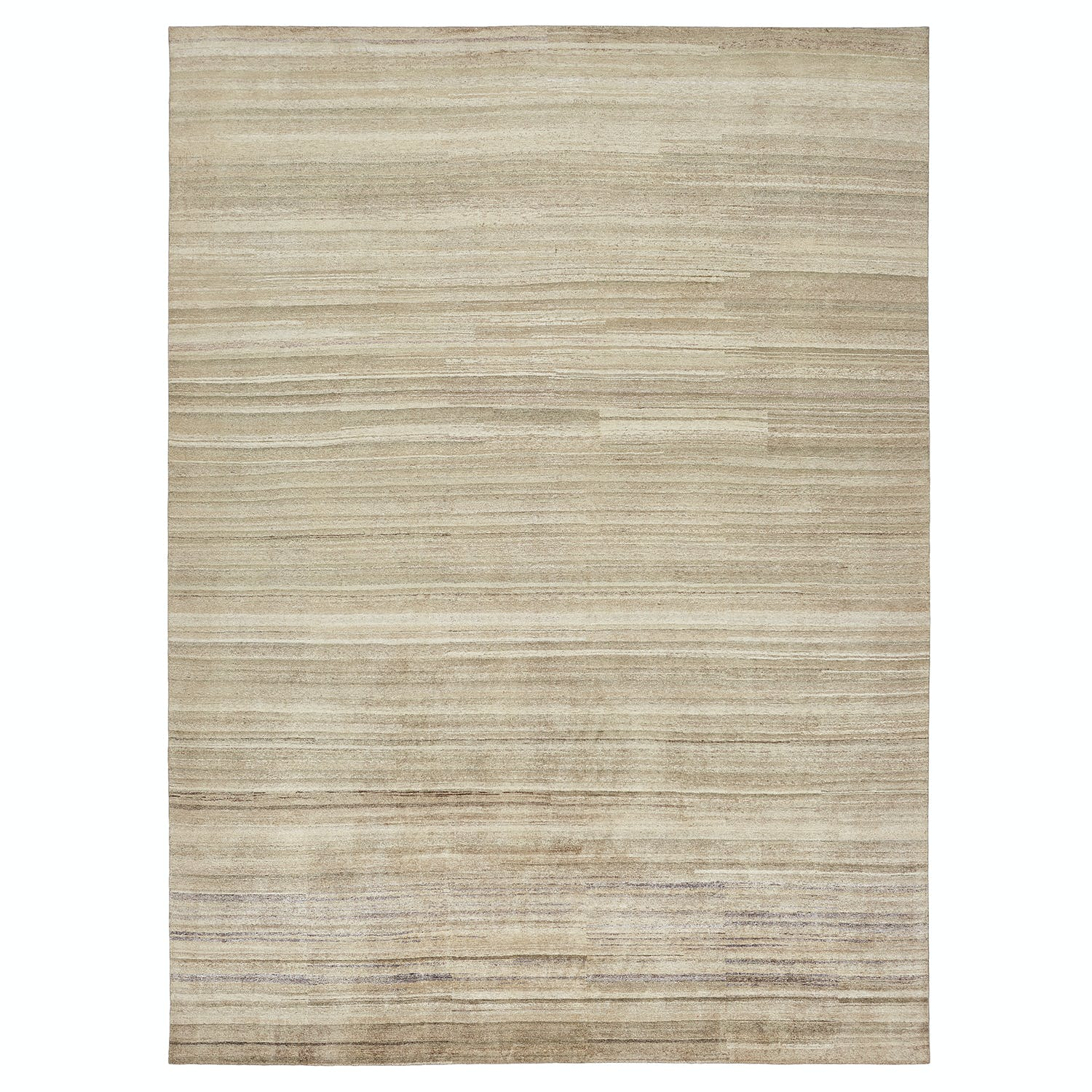 "Contemporary Silk Rug - 8'9"" x 12'1"""