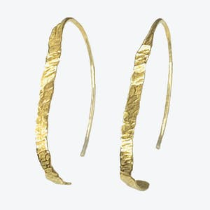 Product Image - Flat Hoop Earrings