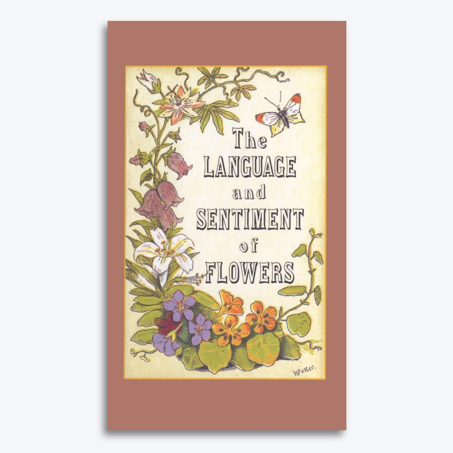 Product Image - The Language and Sentiment of Flowers by James McCabe