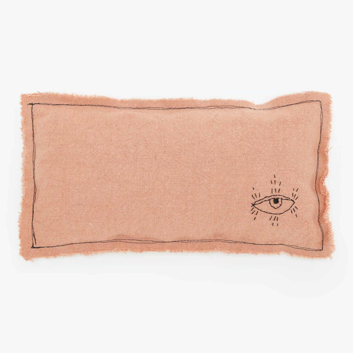 Kata Golda  Embellished Pillow Pink