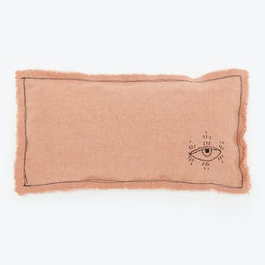 Product Image - Embellished Pillow Pink