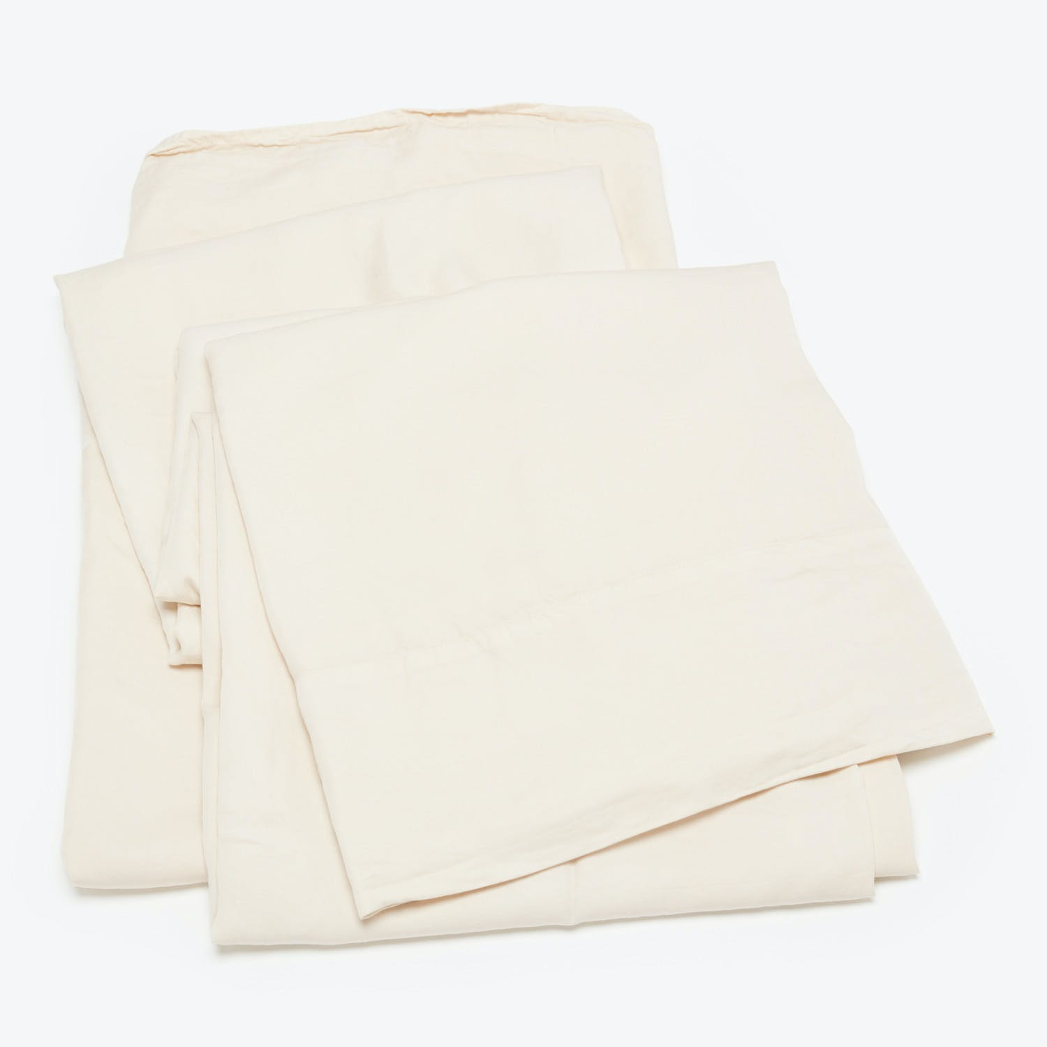 Product Image - Madera Luxe King Flat Sheet Parchment
